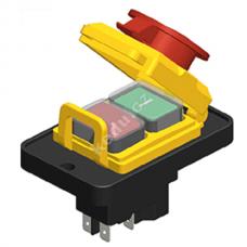 Vypínač KEDU KJD 17B-4    5 kontaktu
