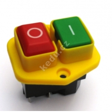 Vypínač KEDU KJD17B- B (KJD 17B) na 4 kontakty