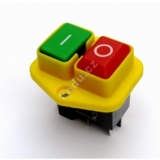 Vypínač KEDU KJD17B-B (KJD 17B) na 5 kontaktu