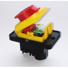 Vypínač KEDU KJD 18 STOP-tlačitko 230V na 6 konektoru