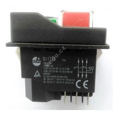 Vypínač KEDU KJD17 011713 na 6 konektoru